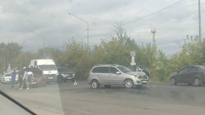 На Ряжском шоссе в Рязани произошло ДТП