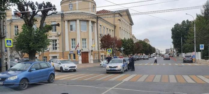 Автомобиль ДПС попал в ДТП на улице Свободы в Рязани