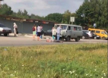 На улице Спортивной в Рязани сбили женщину