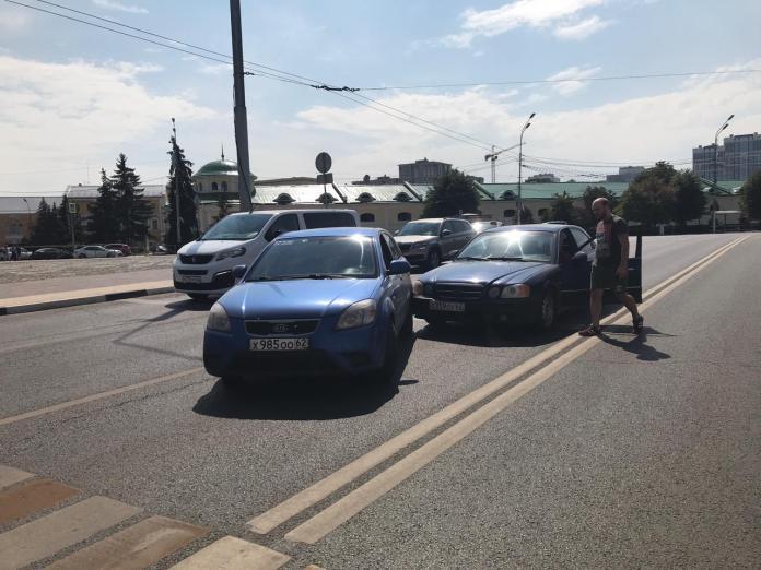 В центре Рязани произошло ДТП