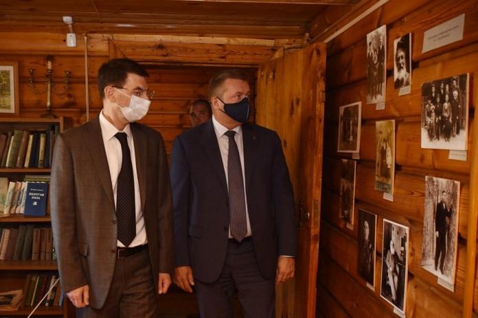 Любимов встретился с полномочным представителем президента РФ Игорем Щеголевым
