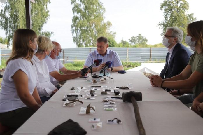 Любимов предложил создать в Рязани школу молодых археологов