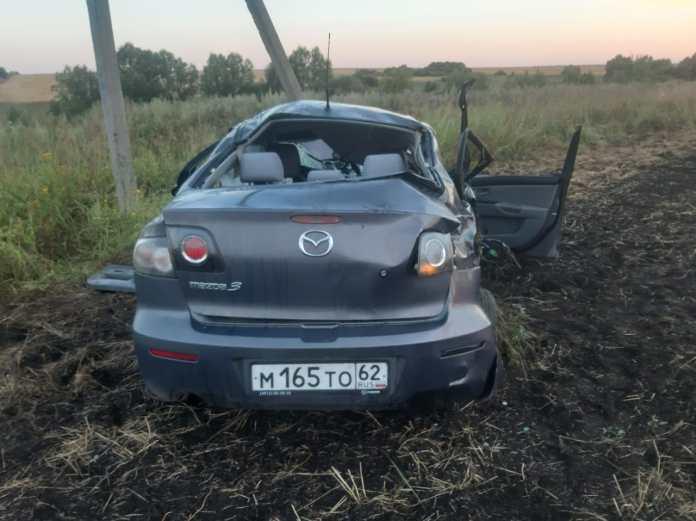 В ДТП в Сапожковском районе погибли два человека