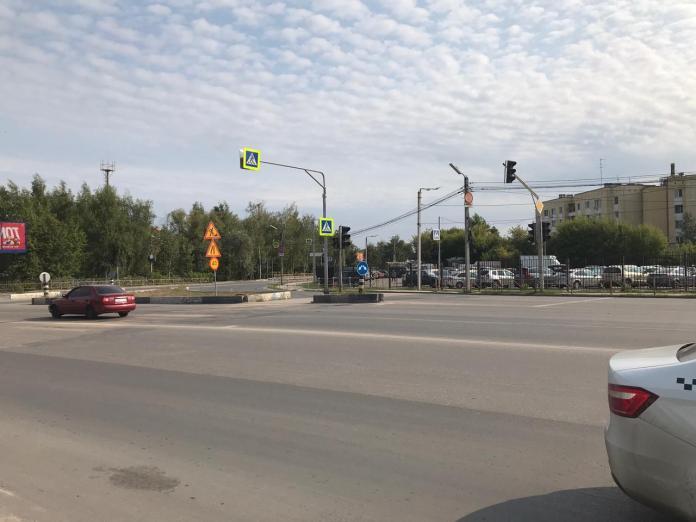 На улице Каширина в Рязани не работает светофор