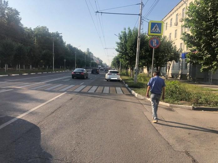 В Рязани сбили женщину на пешеходном переходе