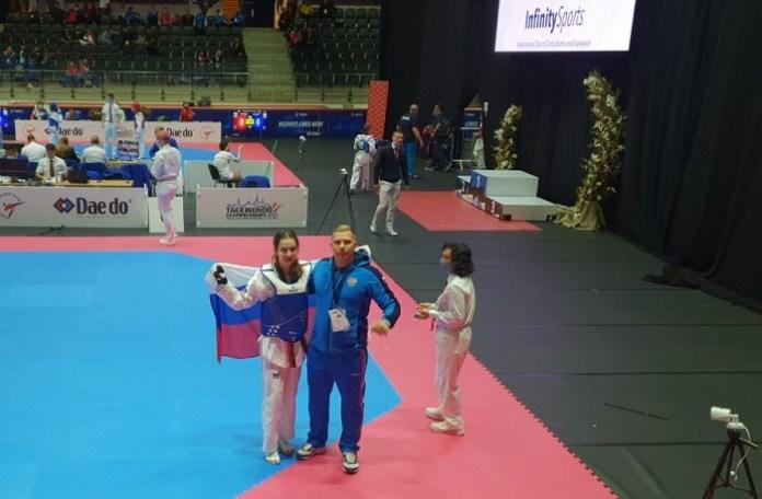 Рязанская тхэквондистка стала чемпионкой Европы среди кадетов