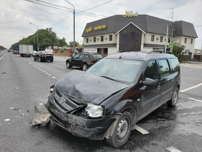 На трассе М5 под Рязанью произошло ДТП с пострадавшей