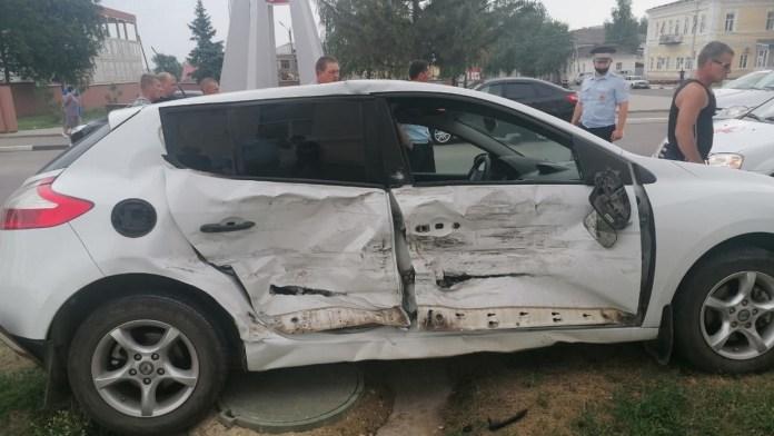 Житель Касимова устроил серьезное ДТП в Сасове