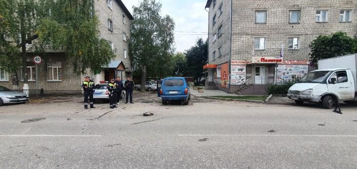 В Рыбном произошло ДТП с участием такси