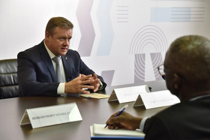 Николай Любимов: Страны Африки являются для нас стратегическими партнёрами