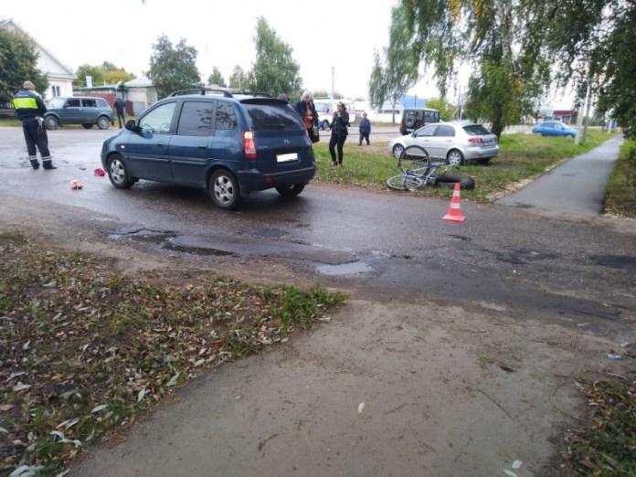 В Шацке сбили велосипедиста, мужчина госпитализирован