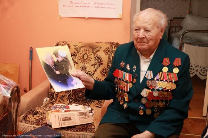 Почётному гражданину Рязани, ветерану Дмитрию Черничкину исполнилось 96 лет