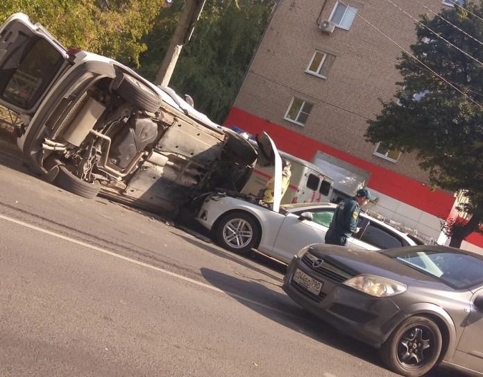 В ДТП в Рязани пострадала 67-летняя женщина