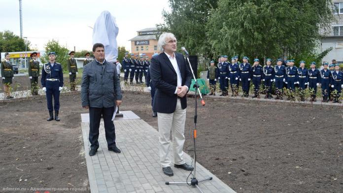 В Рязани открыли бюст маршала Бирюзова