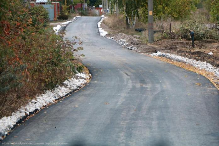 Сорокина проверила ремонт дорог в Борках