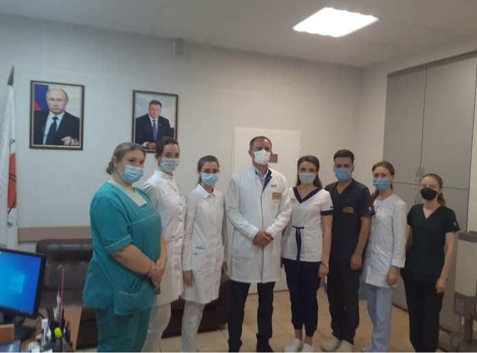 Коллектив кардиодиспансера пополнили молодые специалисты