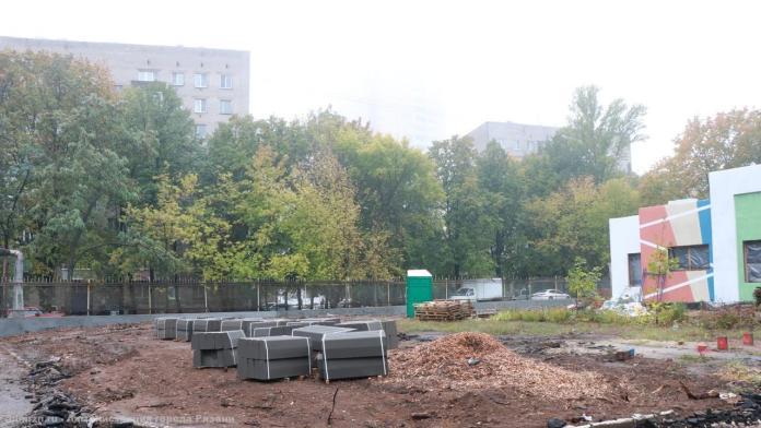 Елена Сорокина проконтролировала строительство яслей в рязанском детсаду №99