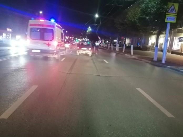 В центре Рязани Нива сбила 53-летнего пешехода