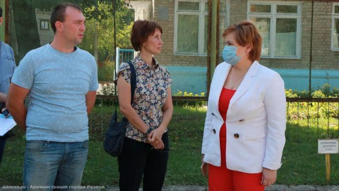 В Рязани благоустроят зелёную зону рядом с детсадом №69