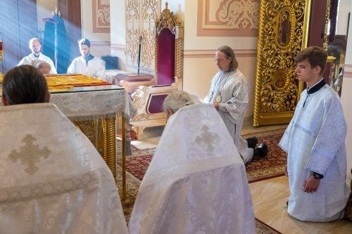 Клирик Рязанской епархии едва не пострадал в аварии под Полянами