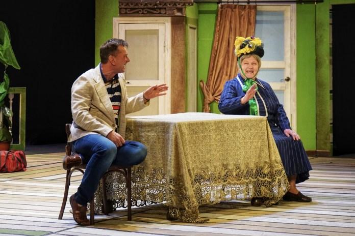 Брянский театр драмы представил рязанцам комедию-фарс «Тётки»