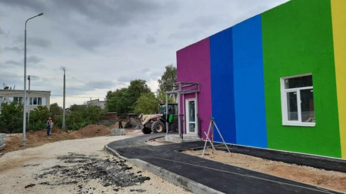 Под Рязанью завершается строительство яслей на 60 мест
