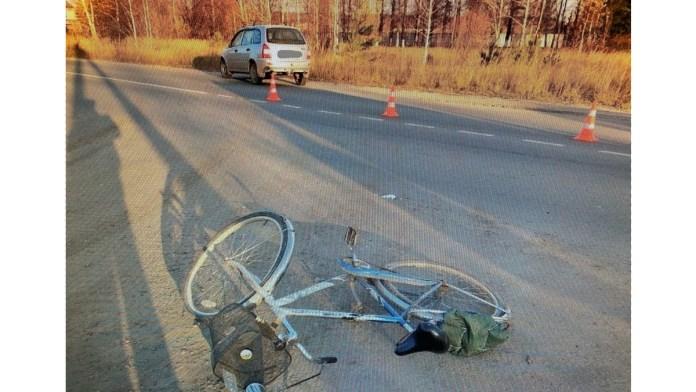 В Касимове под колёса Lada Kalina попал 66-летний велосипедист