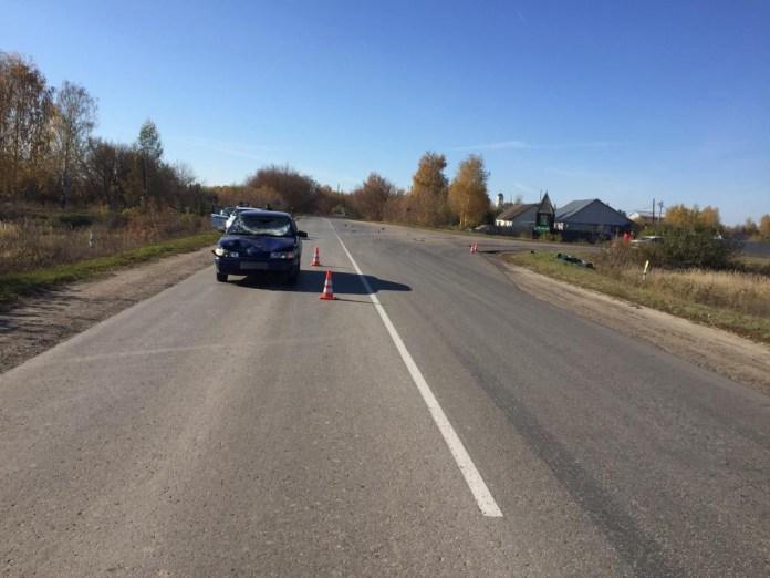 В ДТП в посёлке Чучково погибла 66-летняя пассажирка мопеда