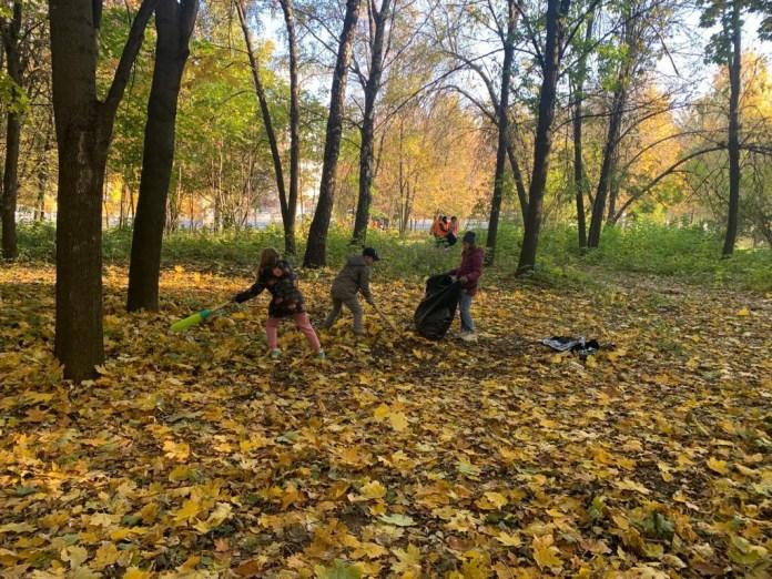 В Рязани прошёл общегородской субботник