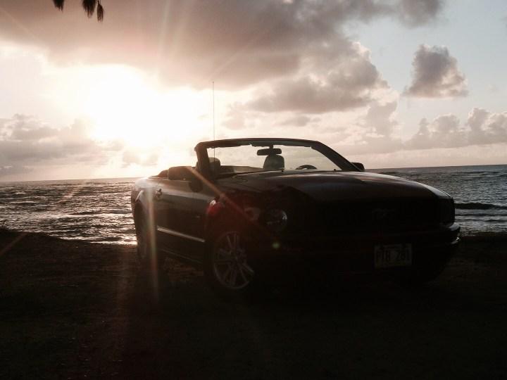Hawaii Oahu Waikiki Automiete