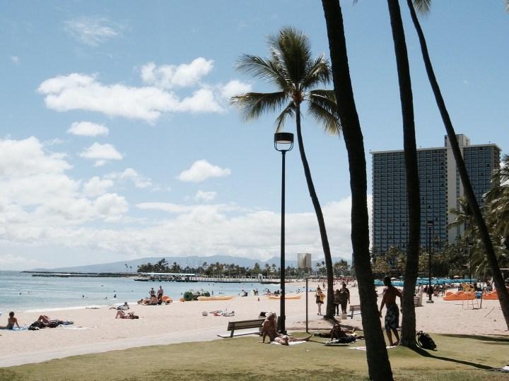 Hawaii Oahu Waikiki Beach