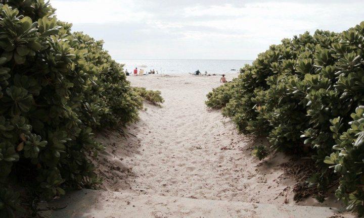 selbstfindungsreise hawaii strand weg