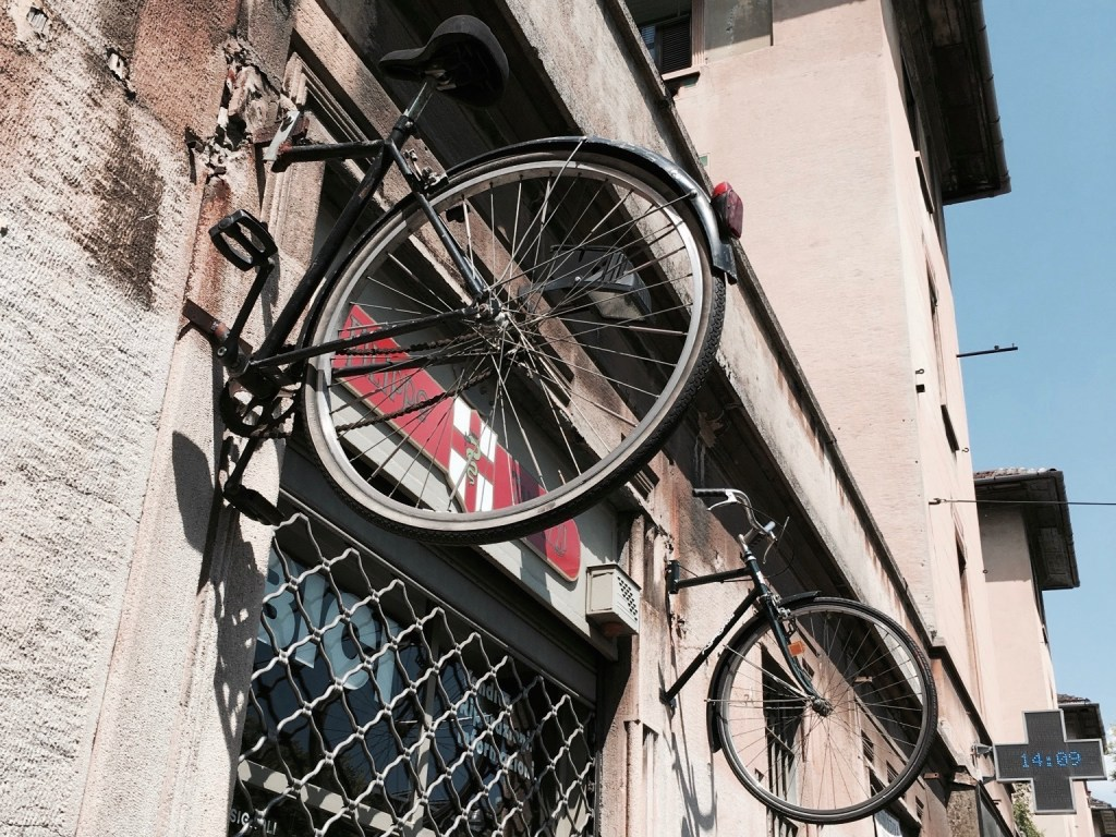 mailand fahrrad kunst