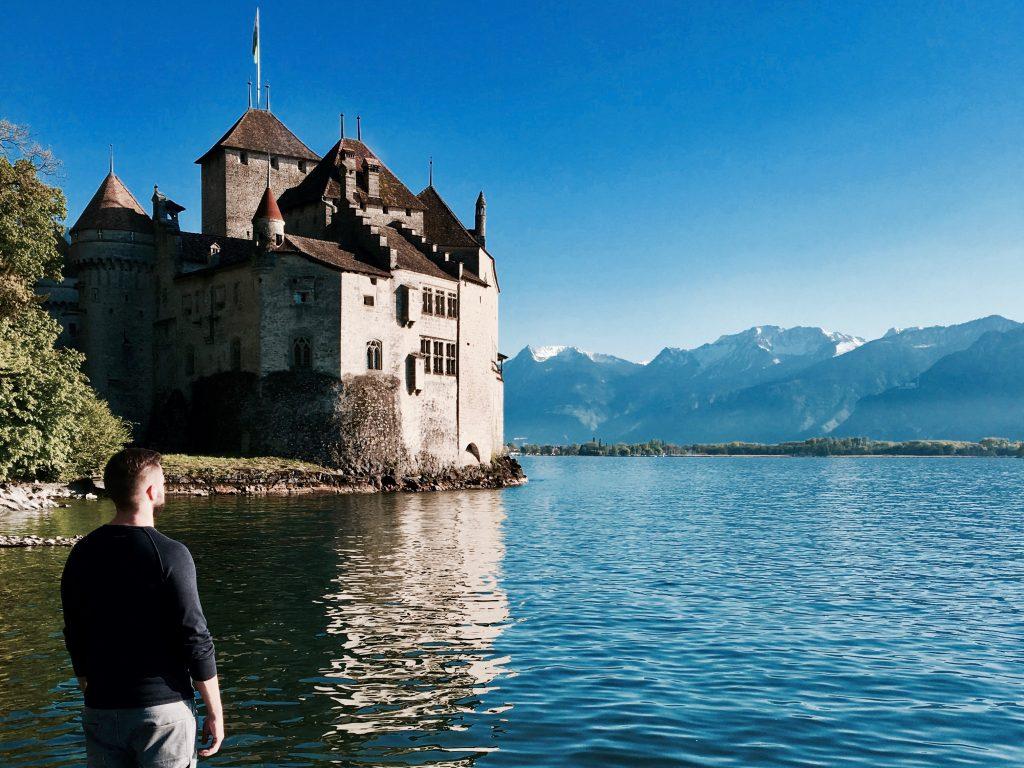Montreux Schloss Chillon Promenade