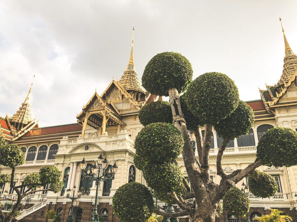 Königspalast Grosser Palast Bangkok