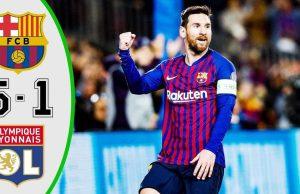 Hasil Liga Champions : Barcelona Melawan Olympique Lyon