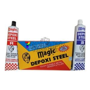 Magic depoxy steel