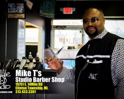Grand Opening of Mike T's Studio Barber Shop