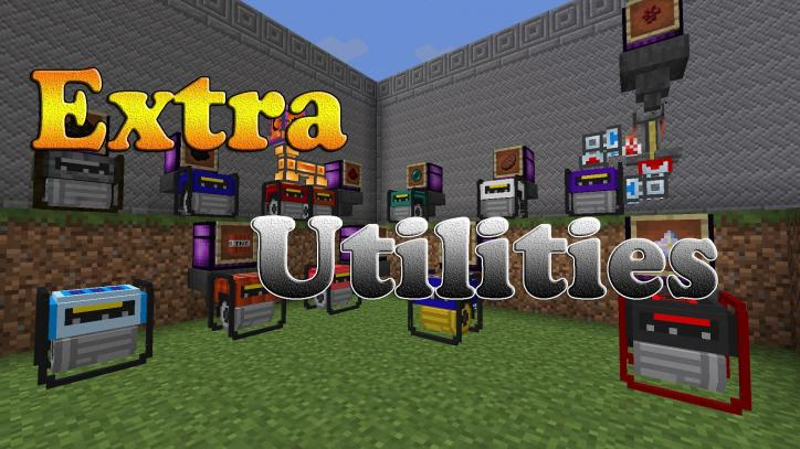 extra utilities mod 1 16 5 and 1 15 2