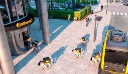 Cachorros-robô começarão a ser usados para fazer entregas de carros autônomos