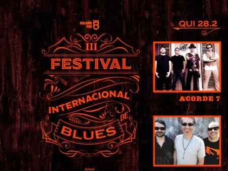 III FESTIVAL INTERNACIONAL DE BLUES – DIA 1