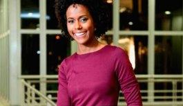 Maju será primeira mulher negra na bancada do Jornal Nacional