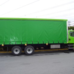 Freightliner of Vancouver - Big Green Curtainside