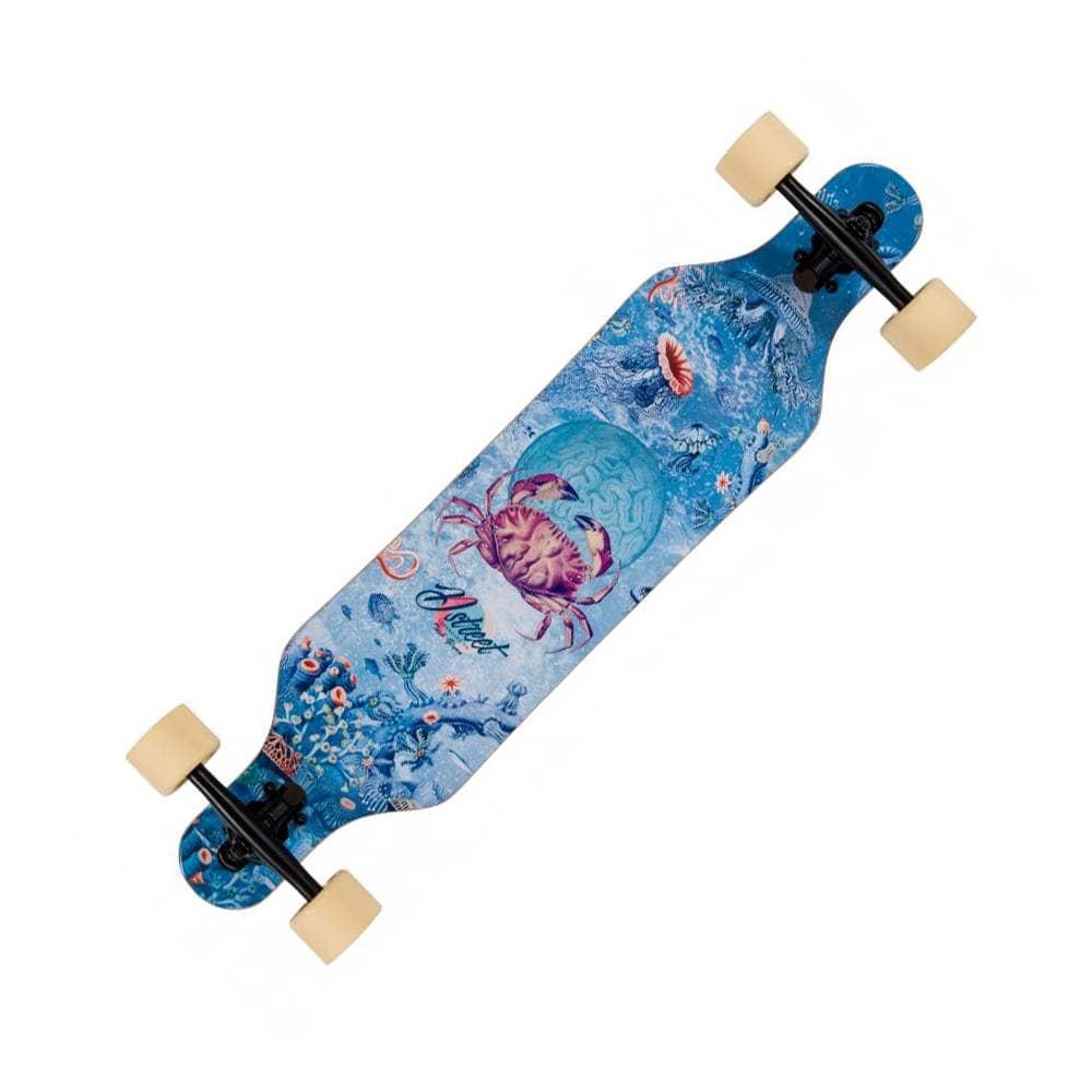 """D Street Skateboards Reef Dropthrough Longboard - 8.5"""" x 37.0"""""""