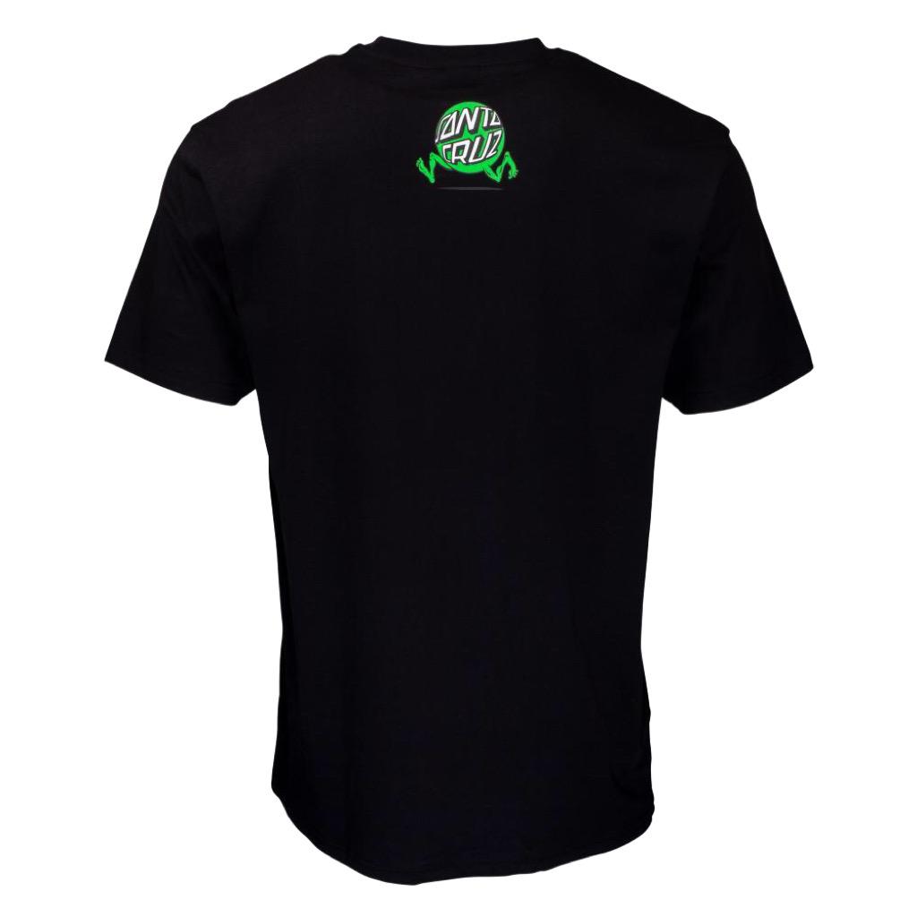 Santa Cruz Toxic Wasteland T-Shirt Black