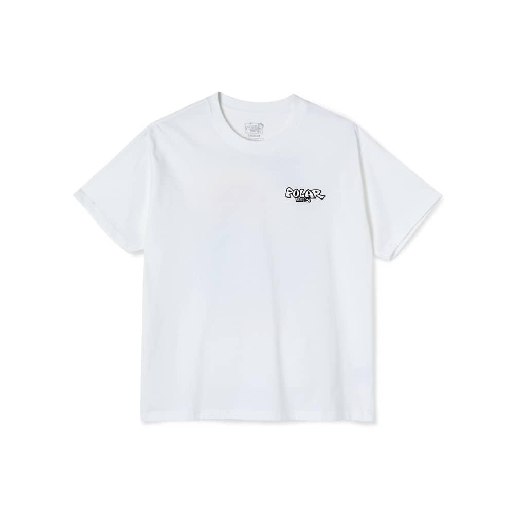Polar Skate Co Mount Fuji T-Shirt - White