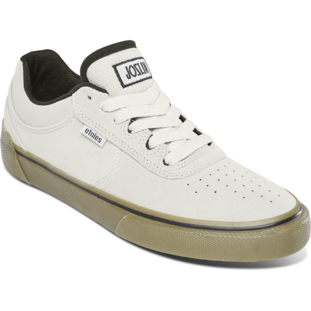 Etines Joslin Vulc Shoes - White / Black / Gum