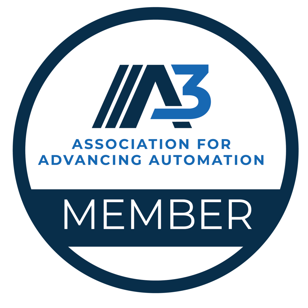 A3 Association for Advancing Automation Member Seal Logo