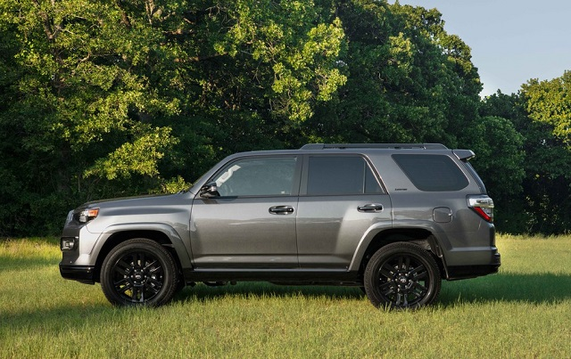 2021 Toyota 4Runner Side View