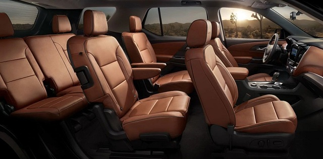 Chevy Traverse Interior Space